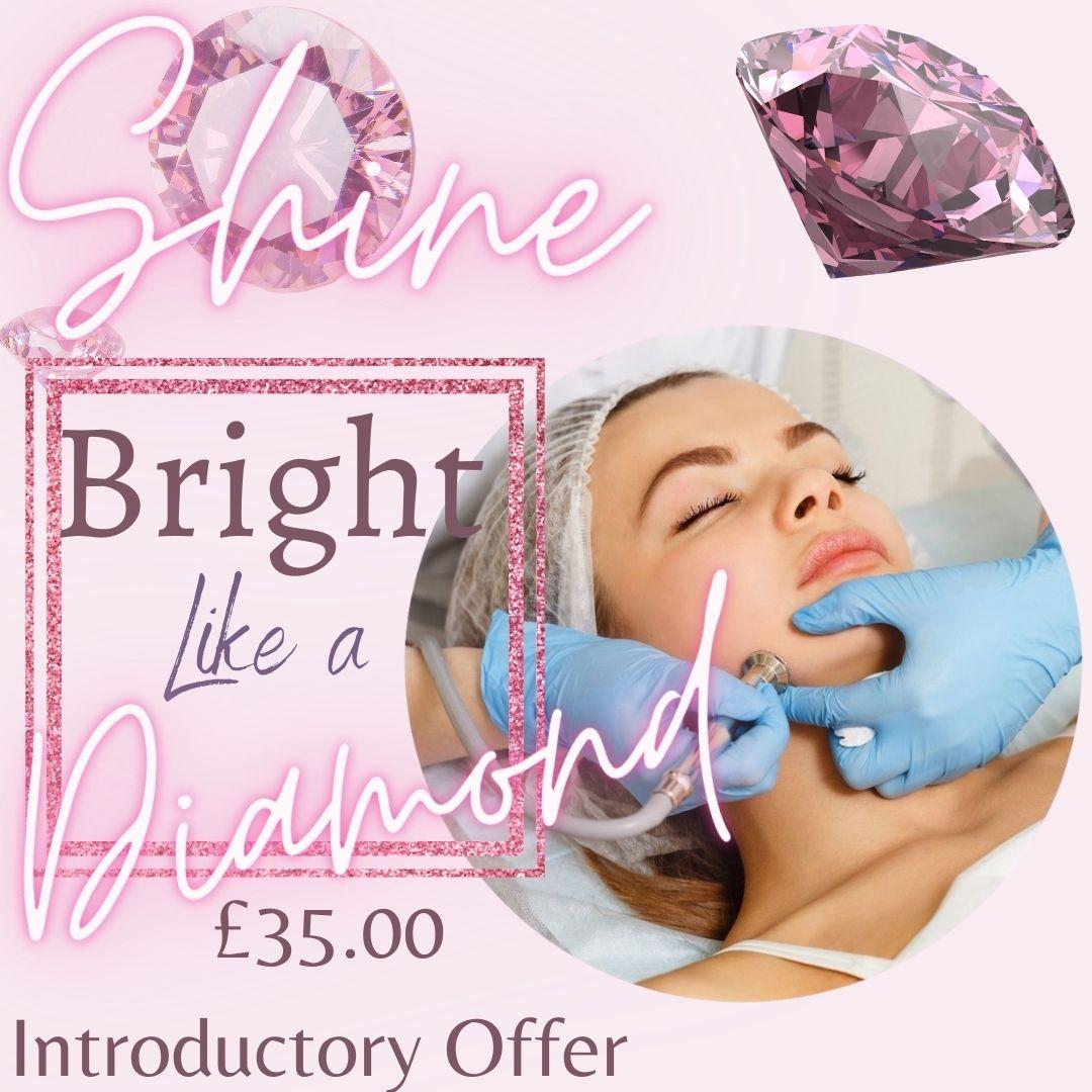 Diamond Dermabrasion Facial Treatment